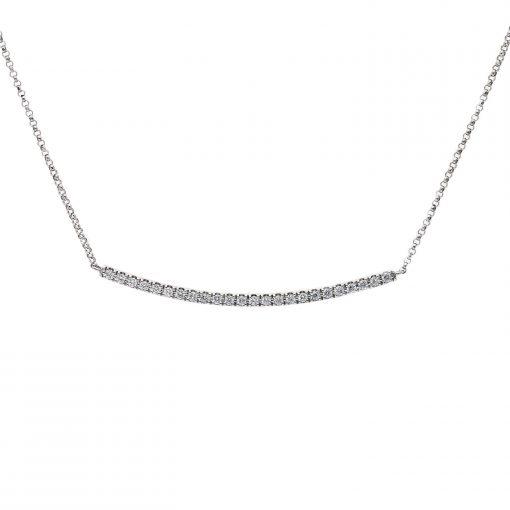 Diamond NecklaceStyle #: PD-LQ3145N