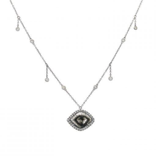 Diamond Slice NecklaceStyle #: PD-LQ3167N