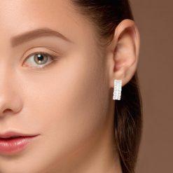 Diamond EarringsStyle #: PD-LQ4595E