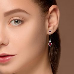 Ruby EarringsStyle #: PD-LQ4712E