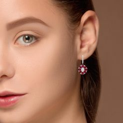 Ruby EarringsStyle #: PD-LQ9105E