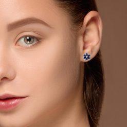 Sapphire EarringsStyle #: PD-LQ9168E