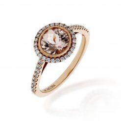 Morganite RingStyle #: ANC-NV530