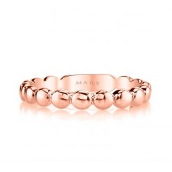 Rose Gold RingStyle #: MARS-26886RG
