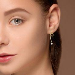 Diamond EarringsStyle #: RIU-36292