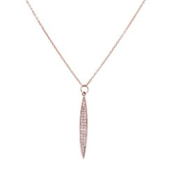 Diamond NecklaceStyle #: MK-840861